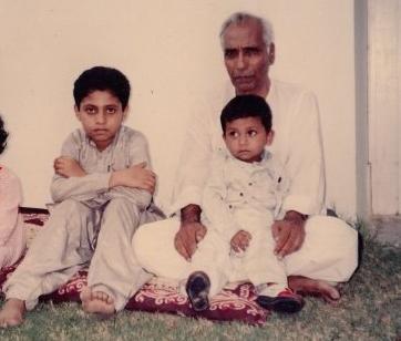 m a ghani adnan masood childhood